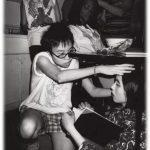 拍攝《我餓》,紐約,1998