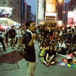 Mobile Democracy Classroom 2014, Causeway Bay, Hong Kong, Photo by: Eunsoo Lee