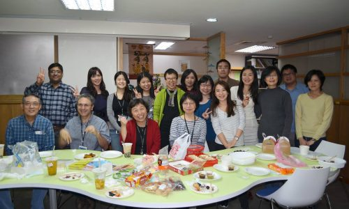 臺灣漢學研究中心訪問學人,2016