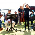 """Poetry Reading, """"Reading Cantonese Poetry Out Loud Concert"""", The Text is Free - Freespace Fest at West Kowloon Waterfront Promenade, 2014"""