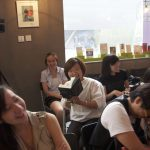 La Dolce Vita and Poetry: Book Launch of Yau Ching's BIG HAIRY EGG, kubrick Bookstore at MoMA, Beijing, July 2011