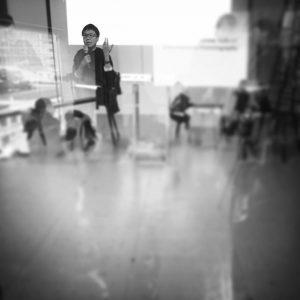 回應人,李思齊<「修復」式閱讀—不/體面政治>, 台北電影蒐藏家博物館,2017年12月2日。攝影:鍾文。